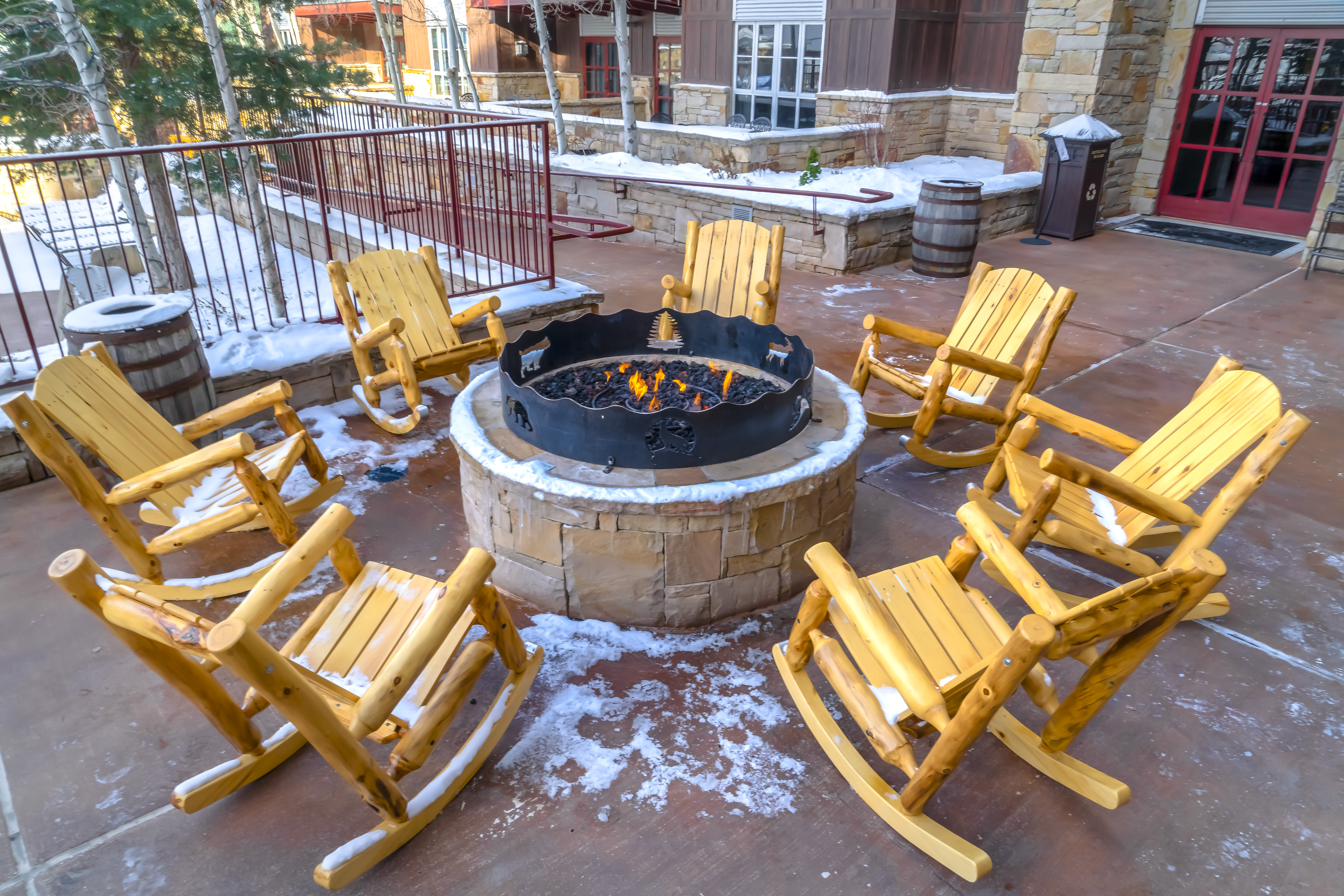 winter patio furniture