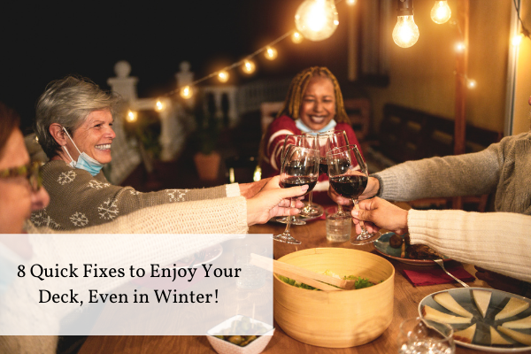 Enjoying Your Patio, Even in Winter