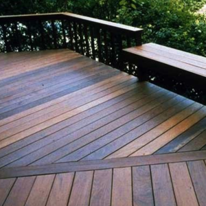 Natural Hardwood Decking